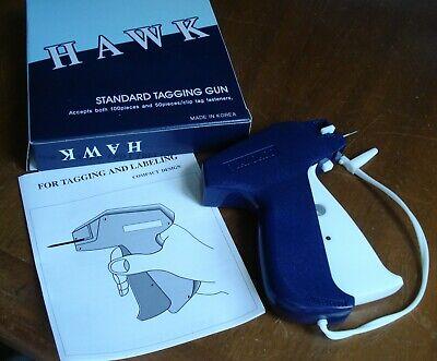 Amram Hawk Clothing Garment Price Label Tagging Tag Gun Needle Machine Labeler
