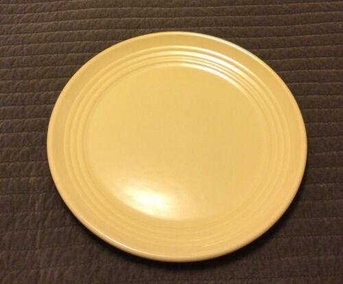 "Vintage Bauer Ringware HTF 17"" Charger Chop Plate W/ Rare Ivory Glaze Excellent"