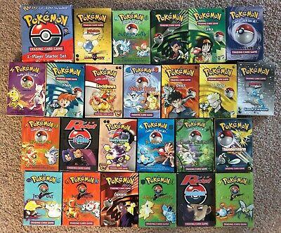 Pokemon Theme Decks (25 Decks ranging from Base to Neo Genesis)