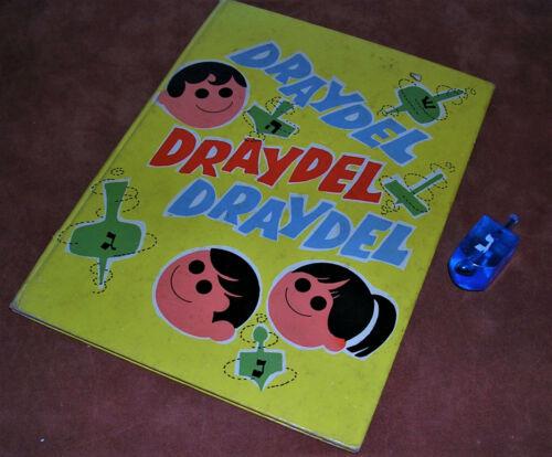Draydel Draydel Draydel Book by Sol Scharfstein, Published 1969 W/ Dreidal