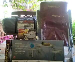 3 Room Tent + Folding Table/Chairs + Padded Recliner BRAND NEW Yungaburra Tablelands Preview