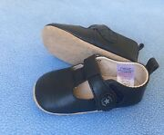 Navy pre walker Mary Jane shoes boys or girls size 2c Hocking Wanneroo Area Preview
