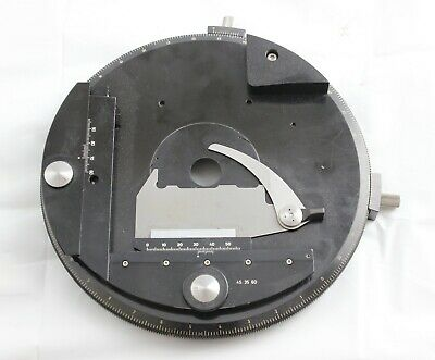 Zeiss Pol Circular Rotating Stage Axio 453550 453560 453563 Microscope
