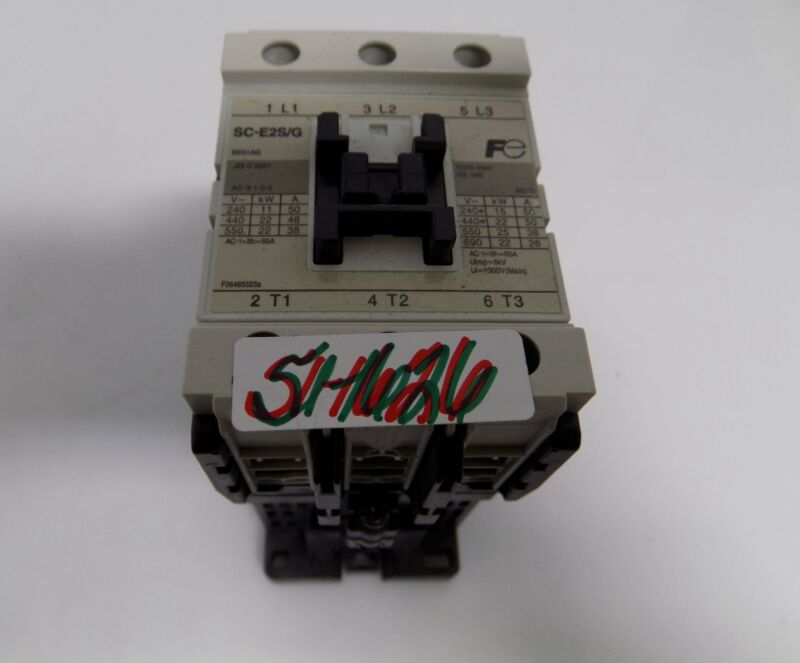 FUJI ELECTRONIC 3 POLE MAGNETIC CONTACTOR  SC-E2S/G