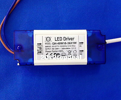Led Driver Power Supply For 36pcs 1w High Power Led 18w-36w 18-36x1w Led