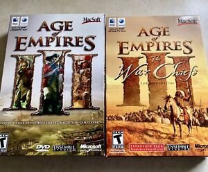 AGE of EMPIRES 3 with War Chiefs Expansion