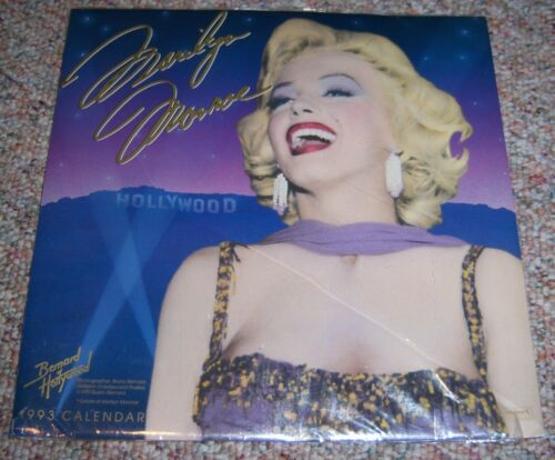 Vintage Marilyn Monroe Collectible 1993 Calendar New