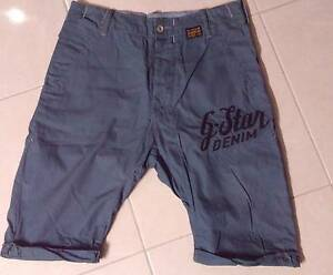 G-STAR GSTAR Raw Men's Tapered Loose Chino Shorts Size 30 Wodonga Wodonga Area Preview