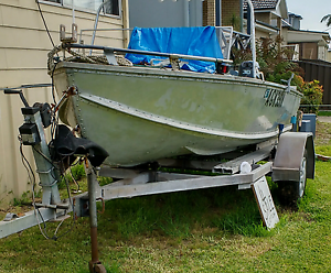 14 foot Alloy Boat Adamstown Newcastle Area Preview