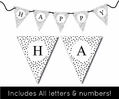 (Printable Party Banner Wall Decor Art Home Design NEW)