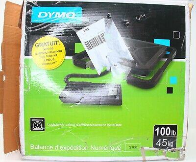 Dymo S100 Digital Usb Shipping Scale 100 Lb 45 Kg Maximum Weight Capacity -