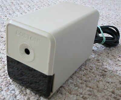 Vintage Boston Electric Pencil Sharpener 296a Model 18 - Made In Usa