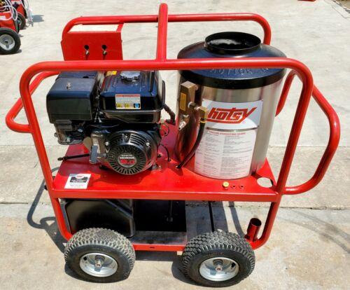 Used Hotsy 965ss Gas Engine Hot Water Pressure Washer SN:137221 (1.110-015.0)