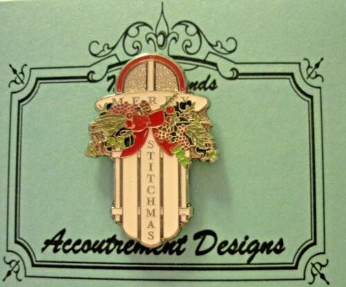 Needle Minder Magnet Sleigh Merry Stitchmas Accoutrement Designs Cross Stitch