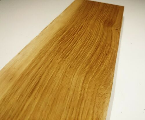 """Figured Oak wood board 24"""" x 3-1/4"""" and 1-1/2"""" thick project board (m11)"""