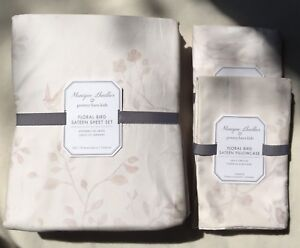 Pottery Barn Kids MONIQUE LHUILLIER Full Sheet Set Retail $259!