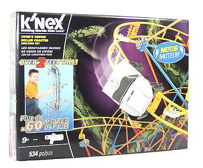Knex Achterbahn, Knex Viper's Venom Roller Coaster, Knex Konstruktionskasten