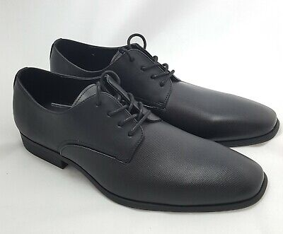 New Calvin Klein Black Dress Shoes Men Size 8  SB#24