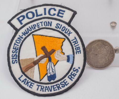 Vintage NOS - Lake Traverse Res. Sioux Tribe South Dakota Police Patch