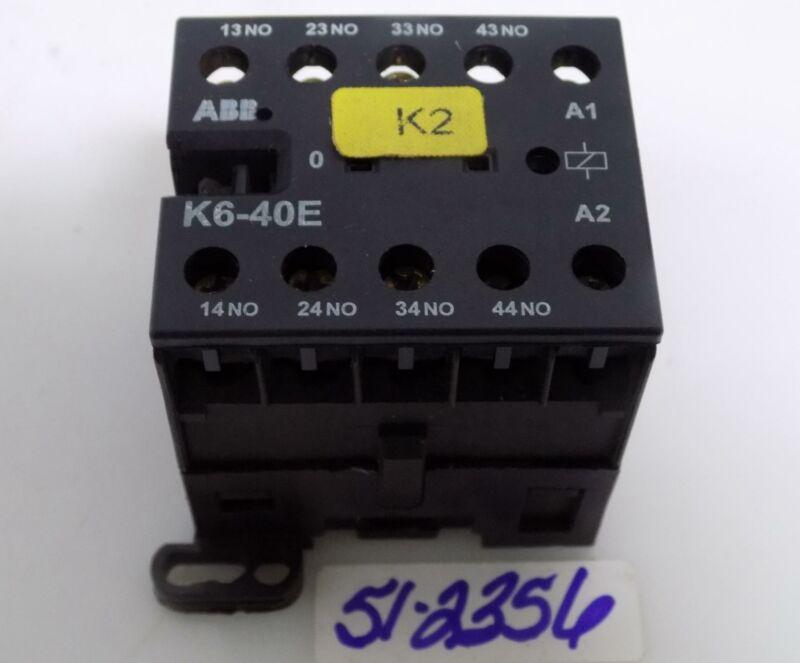 ABB CONTROL RELAY K6-40E