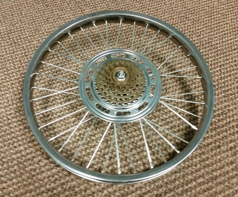 BICYCLE WHEEL WILL FIT SCHWINN STINGRAY KRATE OTHERS 5 SPEED