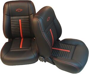 chevelle ss interior kit 68 72 bucket front seats rear bench seat upholstery ebay