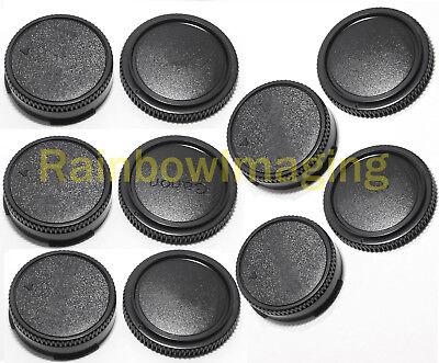 5 Packs Lens Rear Caps Body Caps for Canon FD Camera as FD F-1N A1 T-90 AE-1P FL