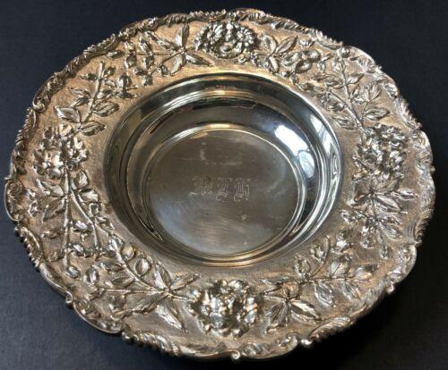 Antique Samuel Kirk & Son Sterling Silver Bowl