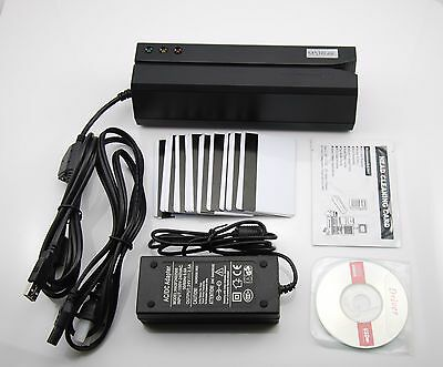 Msr605 Magnetic Stripe Bank Credit Card Reader Writer Encoder Magstripe Swipe