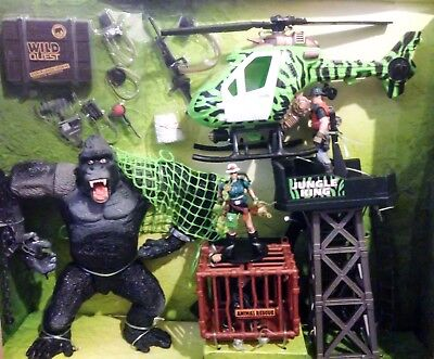 Chap Mei Jungle King Gorilla Kong Giant King Deluxe Tower Attack