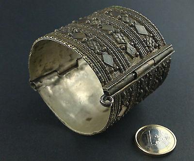 Antiker Gladiator Armreif Klappreif Armband Armspange bangle bracelet Alpacca