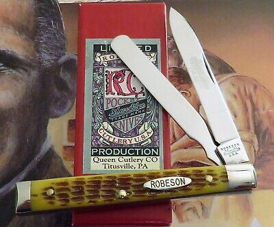 Robeson USA Doctor's Knife 2010 Issue Model 66 Only 200 Made AAA+ MIB NR