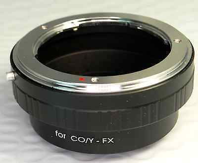 Contax Yashica C/Y Lens Mount to Fujifilm FX Camera Adapter X-Pro1 (with Issues) C/y Contax Yashica Lens