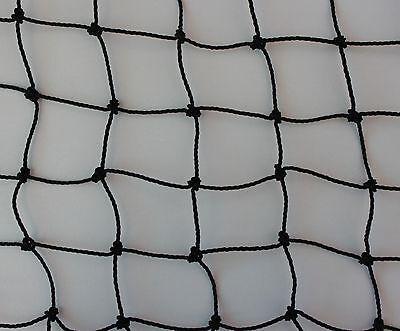 Teichnetz 4 m x 10 m Masche 3 cm schwarz Teichschutznetz Vogelschutznetz