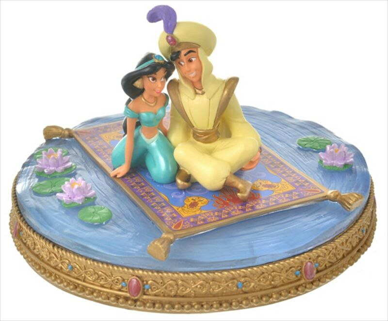 Disney Store Japan 2021 Aladdin Jasmine Figure Magic Carpet Princess