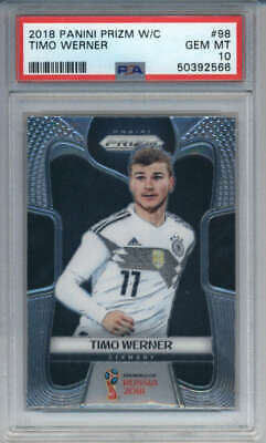 2018 Panini Prizm World Cup #98 Timo Werner Rookie PSA 10 - QTY