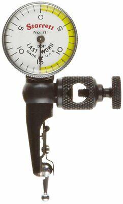 Starrett 711fsz Last Word Dial Test Indicator .030 Range .001 Graduation