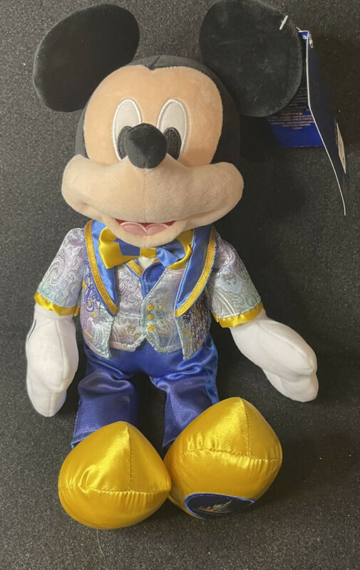 Disney 50th Anniversary Mickey Mouse Plush New In Hand