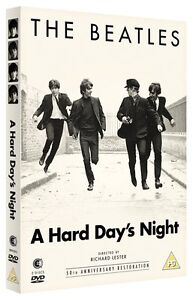 A HARD DAY'S NIGHT The Beatles (1964)  SEALED/NEW 1st film/movie (2 dvds) days