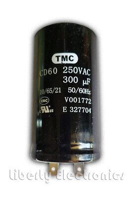 Kondensator st/ändigen f/ür Motor 1/µF 450V mit Kabel 10cm Aerzetix