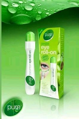 **New** Pure Cucumber And Caffeine Eye Roll-On 15ml