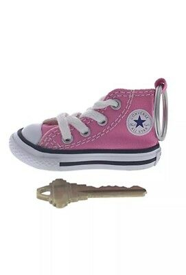 Pink Converse All Star Chuck Taylor Sneaker Shoe Car Key Ring Keychain