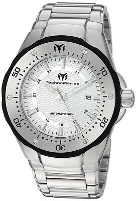 Technomarine TM-215093 Sea Mantra Silver Dial Stainless Automatic Men's Watch