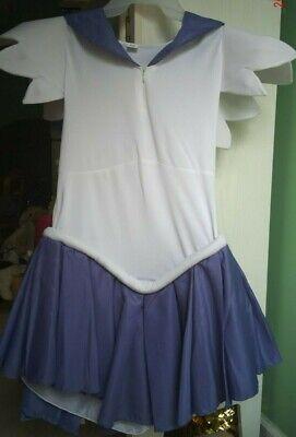 Damenkostüm Saturn Cosplay Lila Sailor Moon Kostüm S//M//L//XL//XXL 36-44