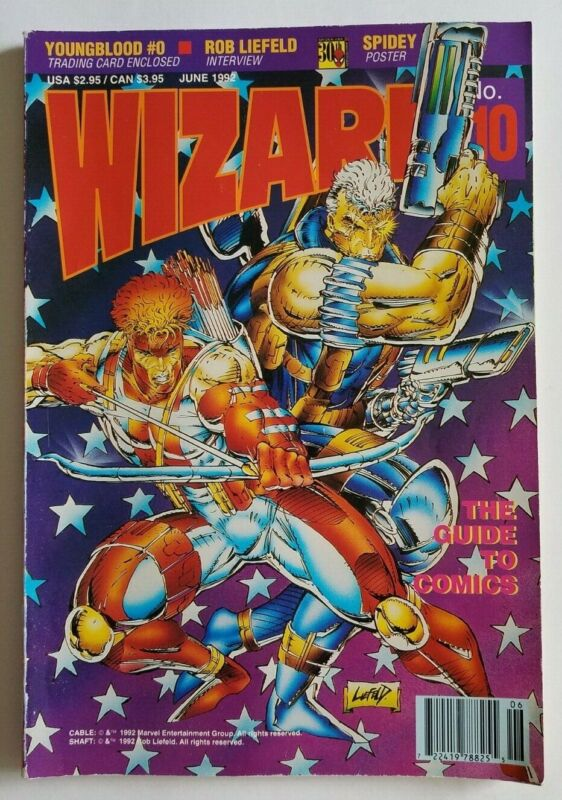 Wizard The Guide To Comics and Price Guide Volume 1 No. 10 June  1992