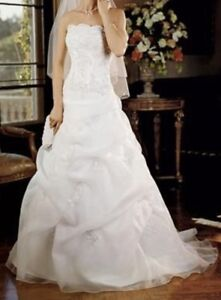 Wedding Dress and bridal slip for Sale