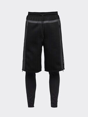 PUMA Men's UEG X Sweatshorts, Black Size L Large