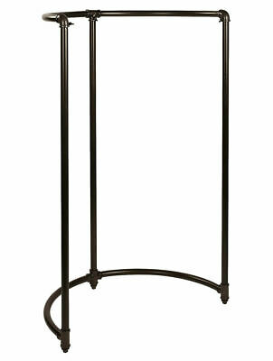 Half Round Clothing Rack Pipeline Collection New York Garment District Style 54