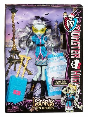 NEW Monster High Scaris City of Frights FRANKIE STEIN Doll Christmas Toy