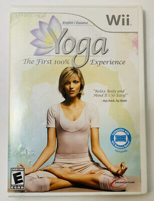 Yoga  Nintendo Wii  2009  Complete with Manual